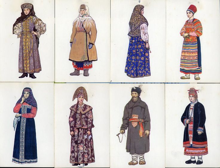 rushian folk costum | russian+costumes+central