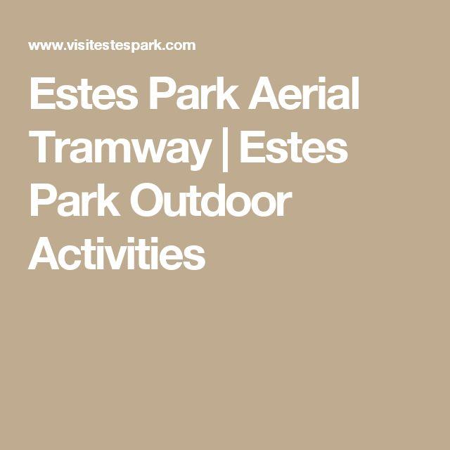 Estes Park Aerial Tramway | Estes Park Outdoor Activities