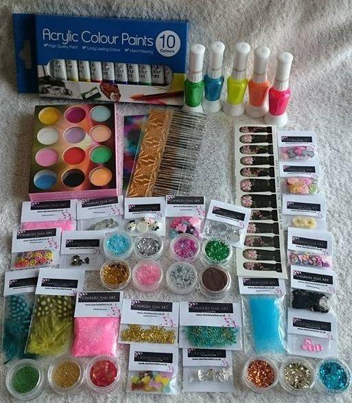 Charlies Nail Art - Nail addict kit (UK Shipping only), £29.99 (http://www.charliesnailart.co.uk/nail-addict-kit-uk-shipping-only/)
