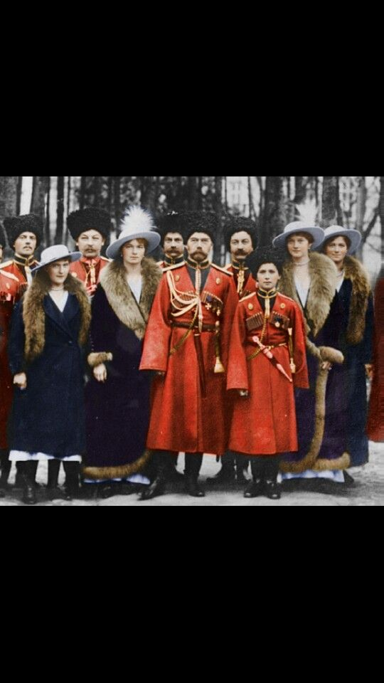 The Tzar Nicholas Romanov, near of the end of his life, murdered with his family in 1918