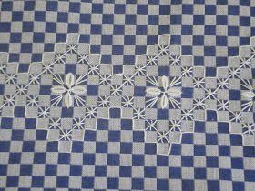 Oficina Girassol: Bordado xadrez