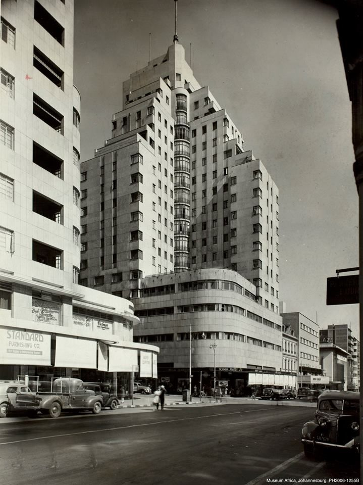 #ArtDeco | Anstey's Building, Johannesburg, South Africa. Designed by Emley & Williamson, 1935.