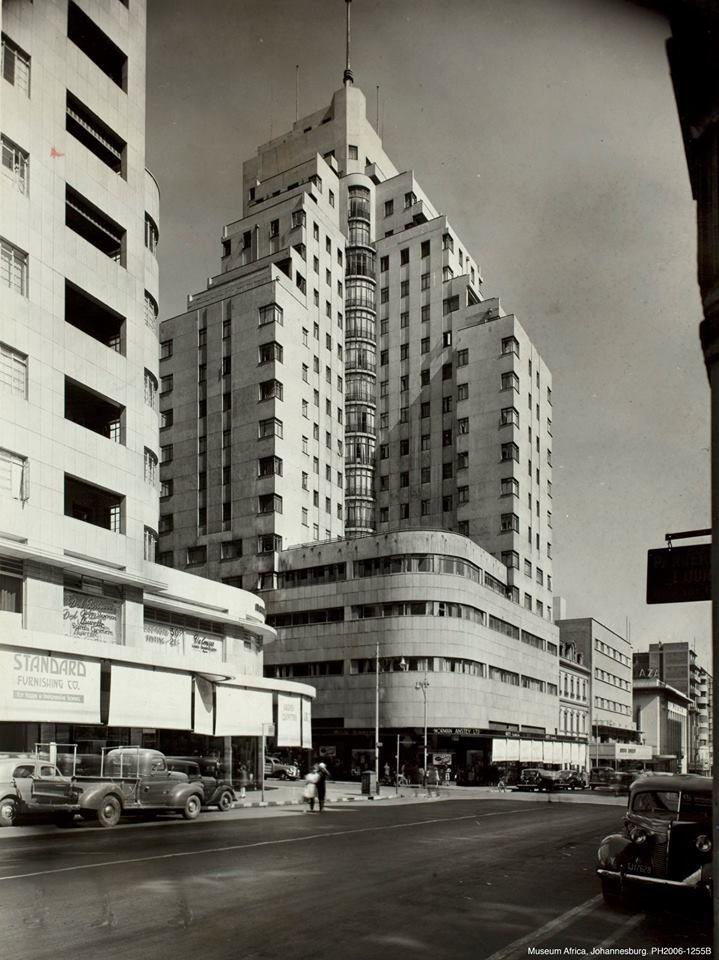Anstey's Building. Vintage Joburg.