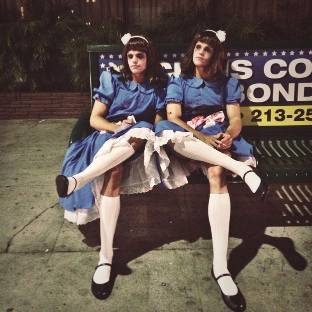"""Max And Charlie Carver From """"Teen Wolf"""" Had The Best Halloween Costume Yet"""