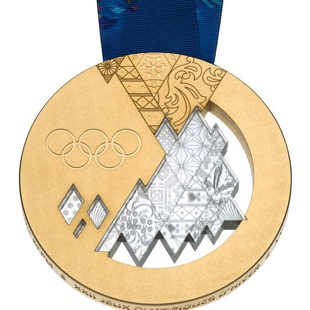 Sochi unveils medals for 2014 Winter Olympics | Fourth-Place Medal - Yahoo! Sports