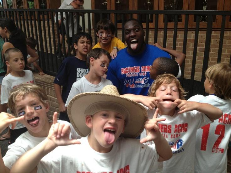 Crazy kids and Cardinal Sam Acho