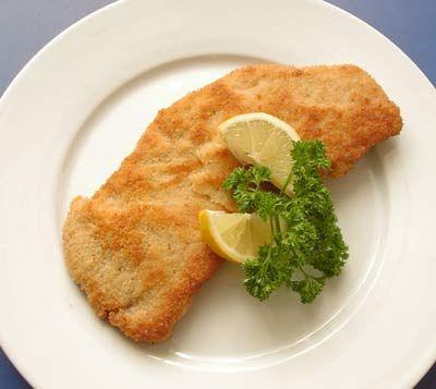 Paniertes Schnitzel Wiener Art auf Mamas Rezepte Homepage