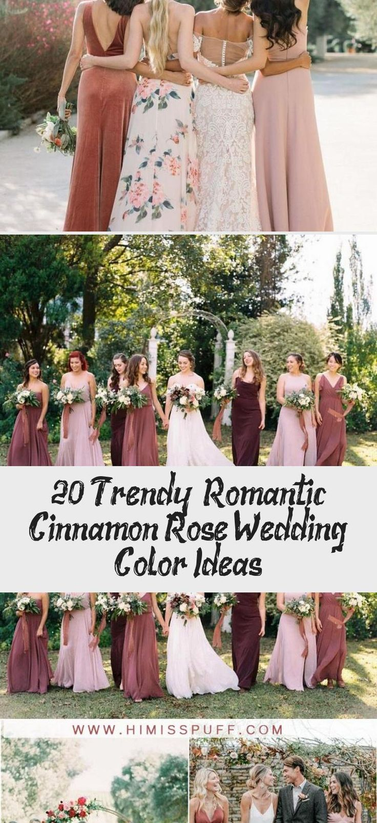cinnamon rose dusty rose bridesmaid dresses #wedding #weddings #weddingideas #weddingcolors #weddinginspiration #himisspuff #BurgundyBridesmaidDresses #BridesmaidDressesFall #CheapBridesmaidDresses #PinkBridesmaidDresses #BridesmaidDressesMismatched