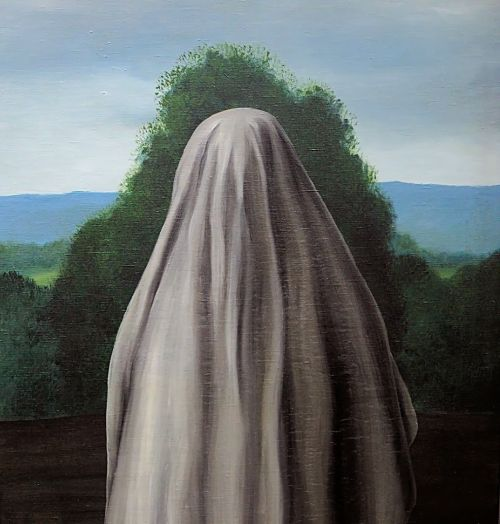 Rene Magritte - The Invention of Life, 1928 (partial)