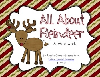 All About Reindeer Book Pam Hickey
