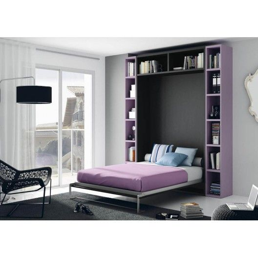 33 best images about lit escamotable on pinterest lit. Black Bedroom Furniture Sets. Home Design Ideas