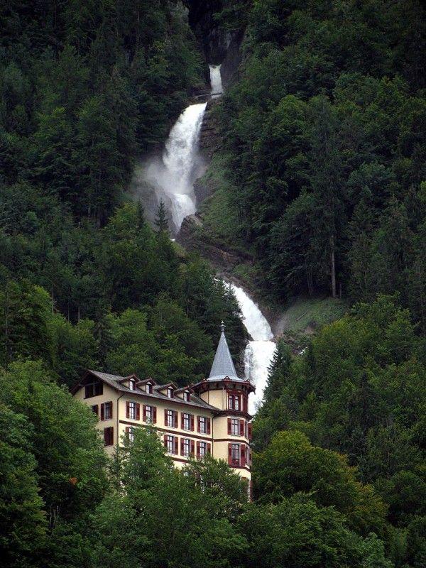 Giessbach Falls, Switzerland