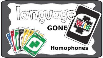 Homophones- those fun little words that sound the same but can mean so many different things! This can be a frustrating concept to understand for language impaired and autistic students, so why not promote such language in a way and exciting way! Language Gone Wild: Homophones is an uno-like language game targeting a student's ability to identify several different meanings for words that sound the same (homophones).