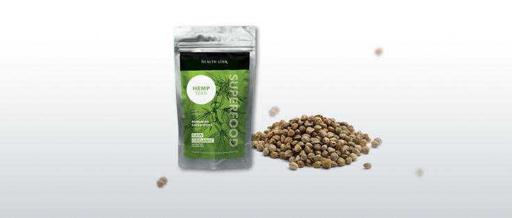 Konopné semienka lupané BIO RAW 100g - peterns-world.com