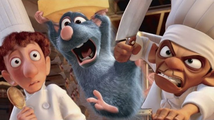 In Real Life - Ratatouille Walt Disney Pictures - Funny Cartoons Pictures