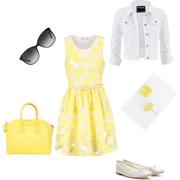 Summer Fling by alison-jane-gairns on Polyvore featuring polyvore, fashion, style, Yumi, maurices, Repetto, Givenchy, Kate Spade and Bulgari