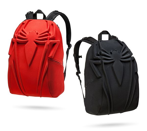 This Marvel x MadPax Spiderman Backpack holds everything required for your secret identity, like your Daily Bugle badge, your camera, and your tablet for taking notes. You can throw whatever you need in here.