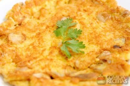 Receita de Omelete de liquidificador - Comida e Receitas