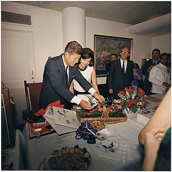 What would be President Kennedy's last birthday party, given by White House staff, at the White House, Navy Mess Hall. (5/29/1963)