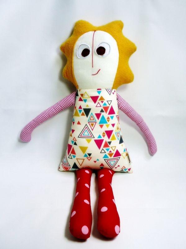 Boneca de Pano Antônia - Daniela Santos