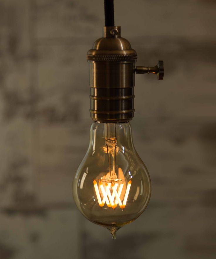Vintage Light Bulb LED - Pear LED - William&Watson
