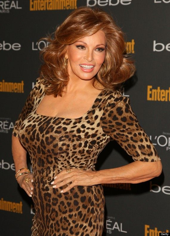 Raquel Welch. Looking good at 73. This woman never ages, she's always beautiful and youthful looking.