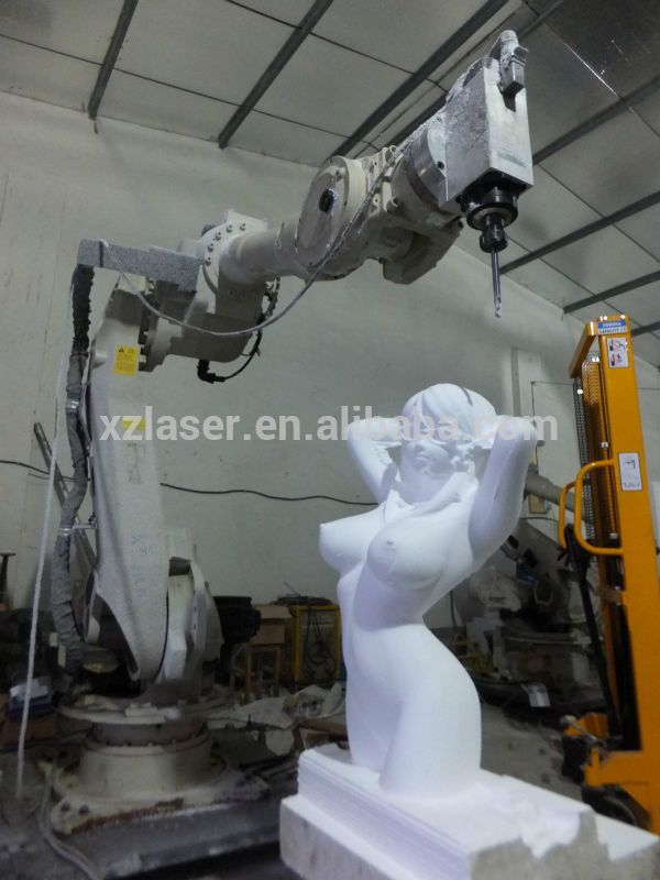 New arrival 3D engraving machine robot 6 axis cnc wood router