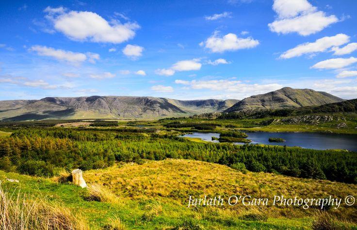 Taynward Lough Sheffrey Pass Connemara