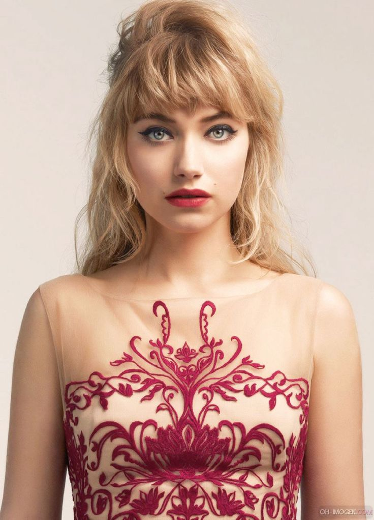 Imogen Poots - Photoshoot for Untitled Magazine Spring/Summer 2014