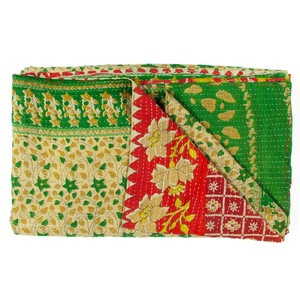Vintage Sari Throw Bharatpur now featured on Fab.