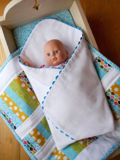 Just Another Hang Up: Doll Cradle Bedding {Part 2}...