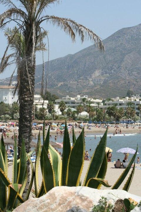 Estapona beach, Costa del Sol, Spain