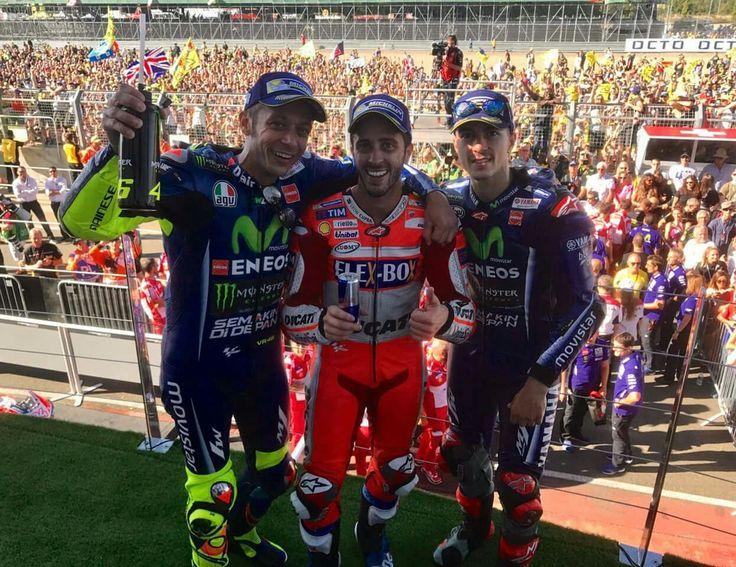British Motogp podium 2017