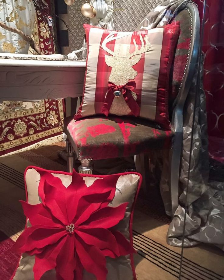 Handmade Christmas pillows