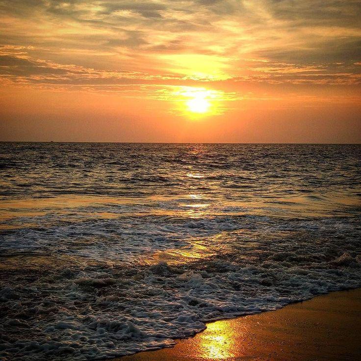 #puestadesol en #cheraibeach ... #cherai #kerala #india #playa #atardecer #sunset #sunsets #beach #nice