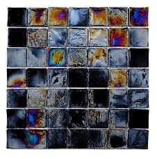 Diesel Black Square Mosaic (30.6x30.6cm)