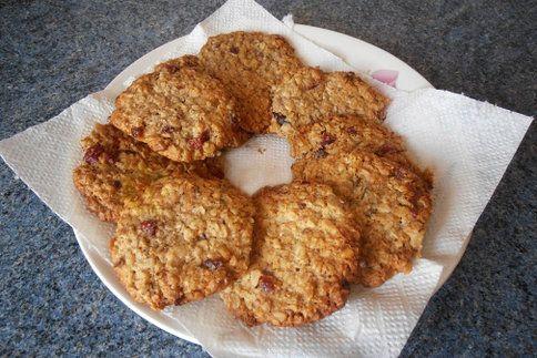 Brusinkové sušenky