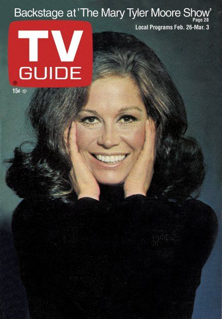 TV Guide February 26, 1972 - Mary Tyler Moore of The Mary Tyler Moore Show.