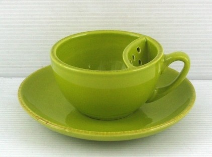 Tea Dam Cup: Allows your tea to slowly infuse. Perfect for slow brewing herbal and detox teas.