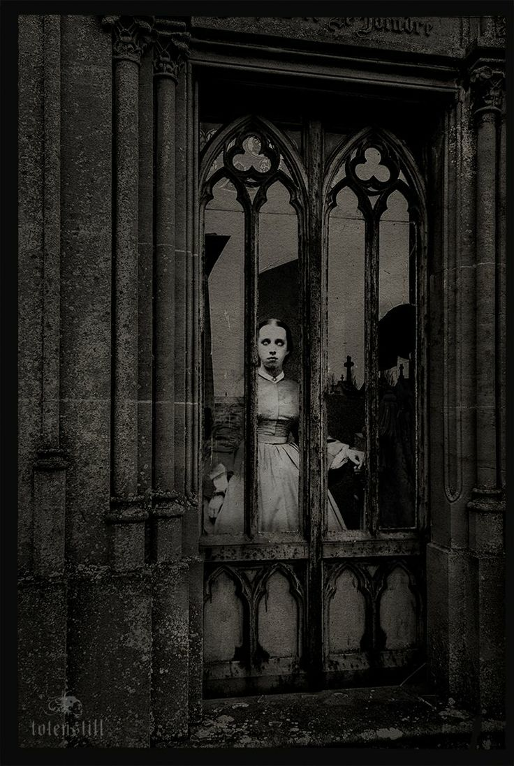 Goth: The #Undead ~ #Gothic window.
