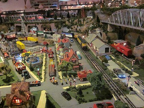 https://flic.kr/p/dDGuj7 | Train Garden #2 | Here's another part of the Holiday Train Garden at Marley Station Mall in Glen Burnie, MD.  December 22, 2012.