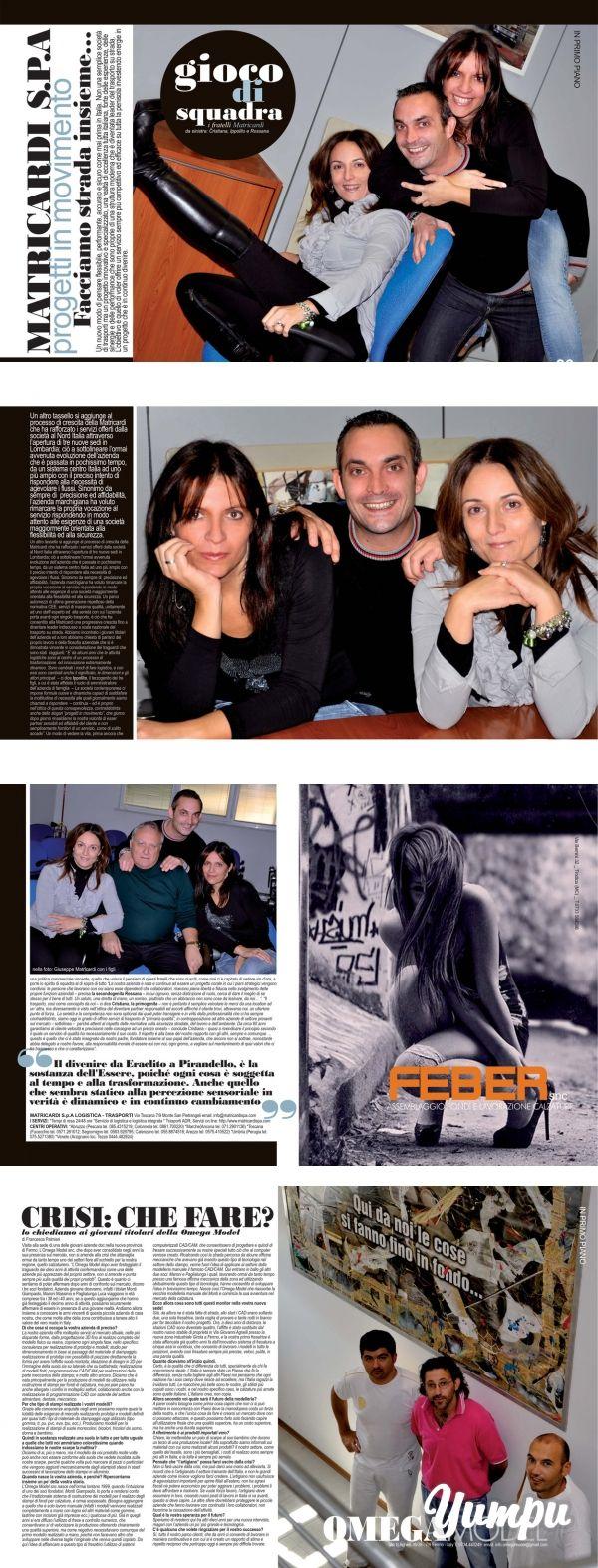 https://www.donnaimpresa.com progetti in movimento - Donna Impresa Magazine - Magazine with 4 pages: progettiin movimento - Donna Impresa Magazine