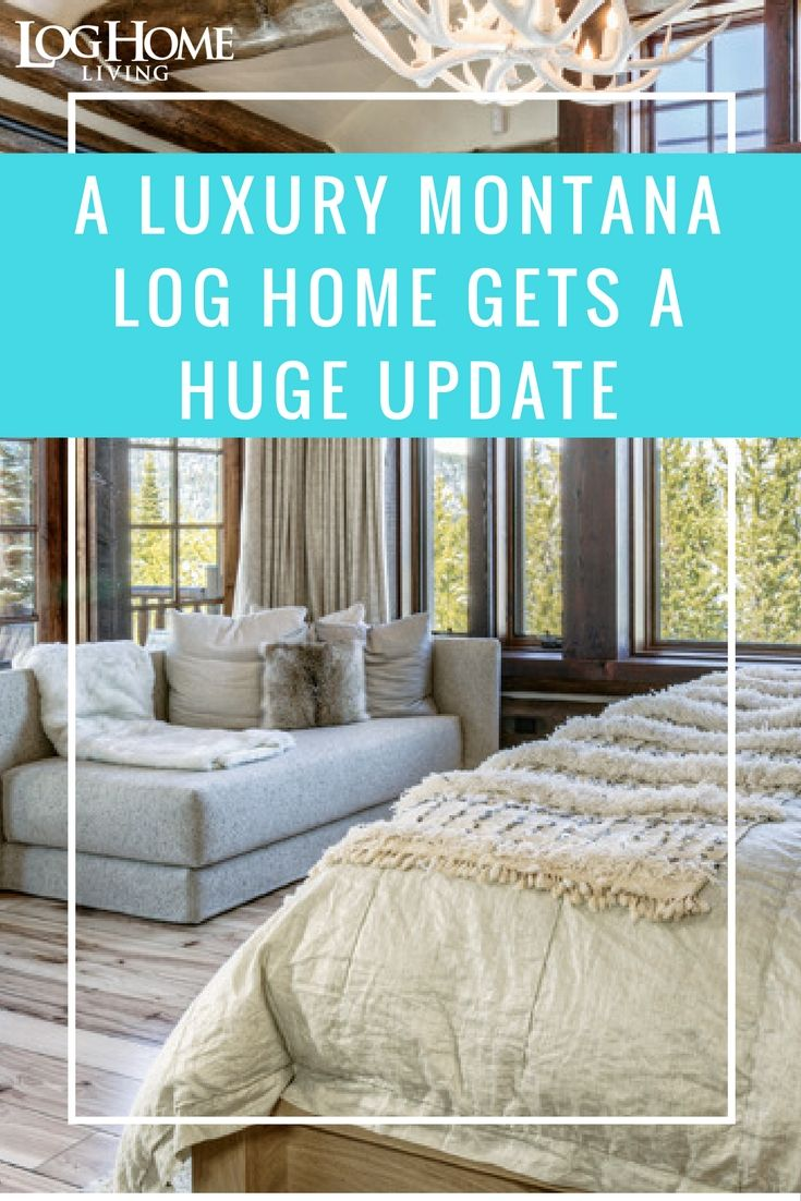36 best images about log home bedrooms on pinterest for Log homes magazine