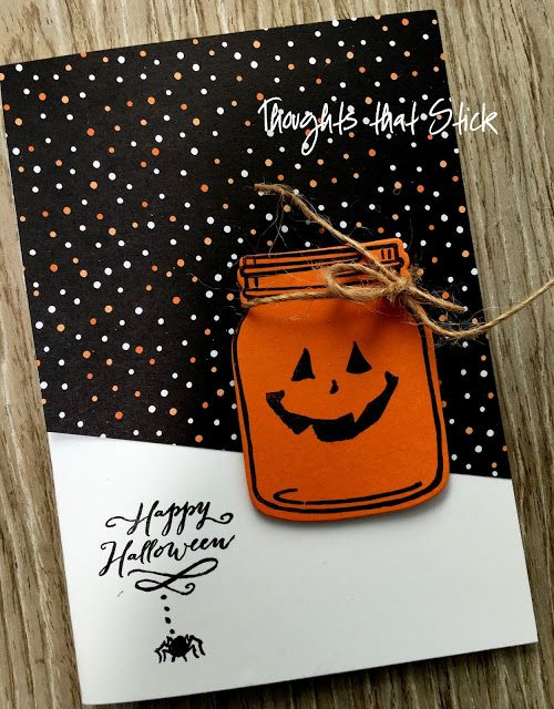are you getting tired of all the halloween cards yet this one is a quick - What To Say In A Halloween Card