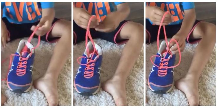 This is supposed to be the easiest way to teach your kids how to tie their shoes! I wish this was around when my kids were little. I've never seen this before!
