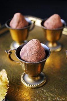 Шоколадные трюфели с секретным ингредиентом