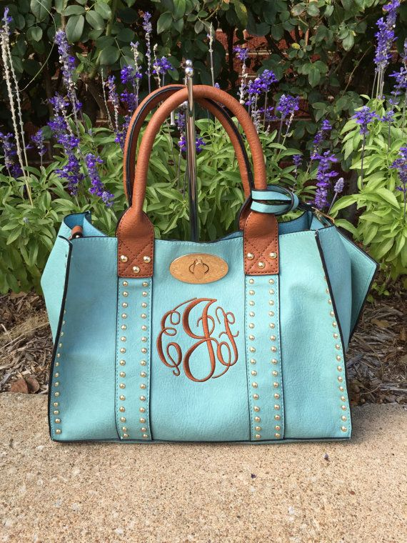 Hey, I found this really awesome Etsy listing at https://www.etsy.com/listing/248534208/beautiful-studded-purse-monogram-purse