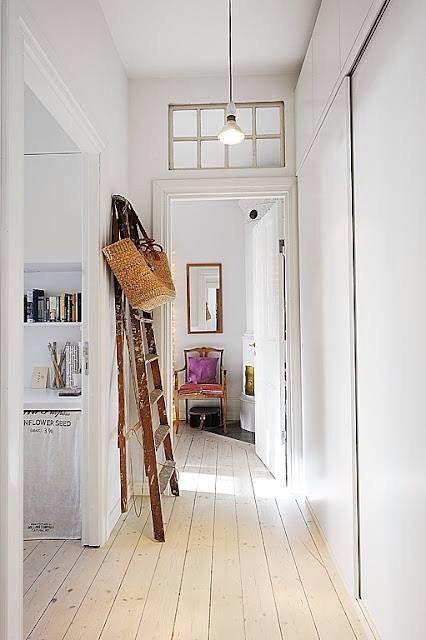 Modern hallway storage ideas
