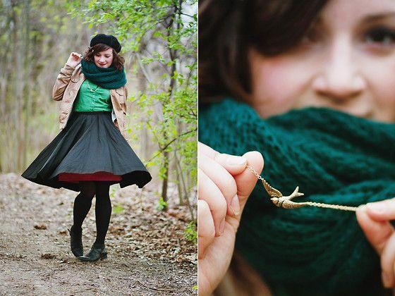 Klara K. - Troll Polka Dot Shirt, Diy Skirt - Hemulen's Impecunious Cousin