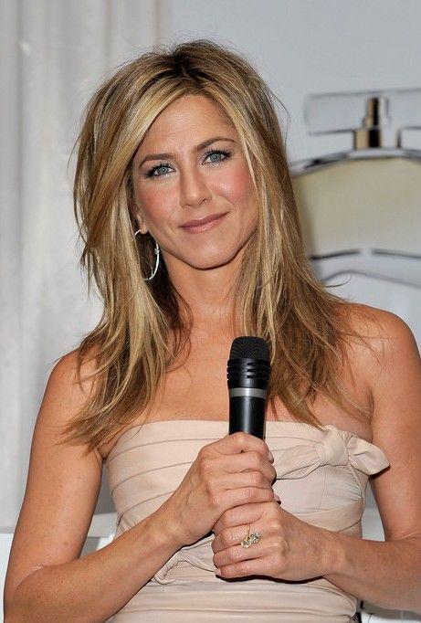 jennifer aniston hair   Jennifer Aniston Medium Layered Hairstyle: 2013 - 2014 Hairstyle ...